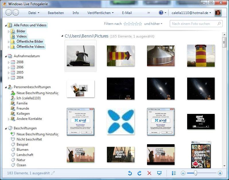 Windows Photo Gallery 2012