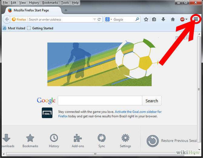 Block Pop-ups in Firefox Step 2