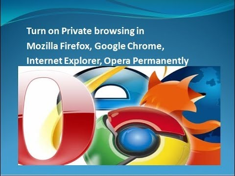 Mozilla Firefox Private Browsing Mode