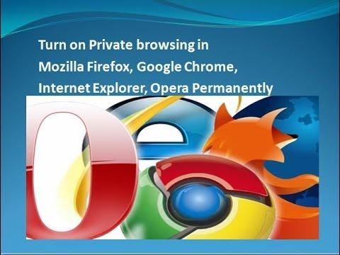 Mozilla Firefox Private Browsing Mode