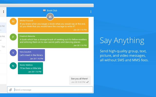 Signal Private Messenger Screenshot