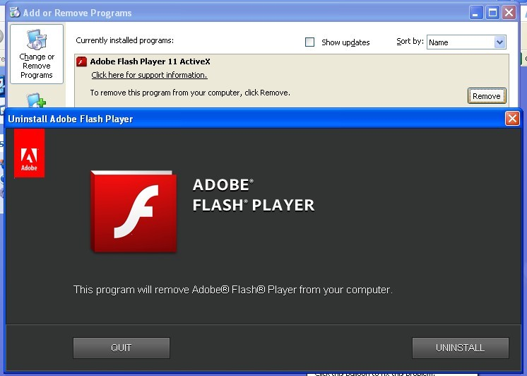 Adobe Flash Player Uninstaller 19.0.0.245 Download