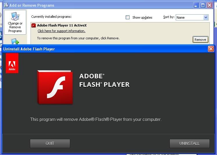 Flash player uninstaller - фото 10
