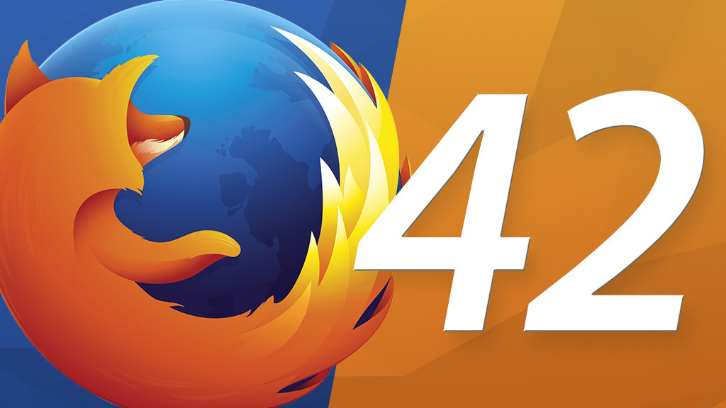 Firefox 42 browser