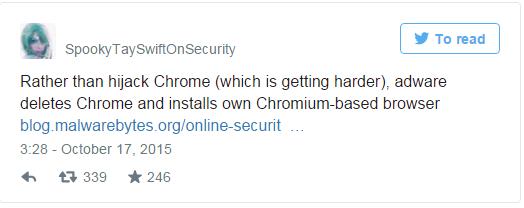 SpookyTaySwiftOnSecurity tweet