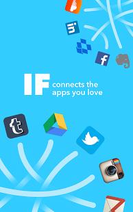 IF by IFTTT Screenshot