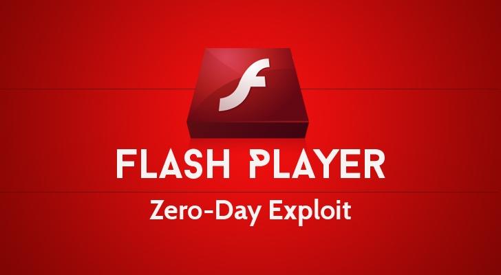 Adobe flash player zero day vulnerability
