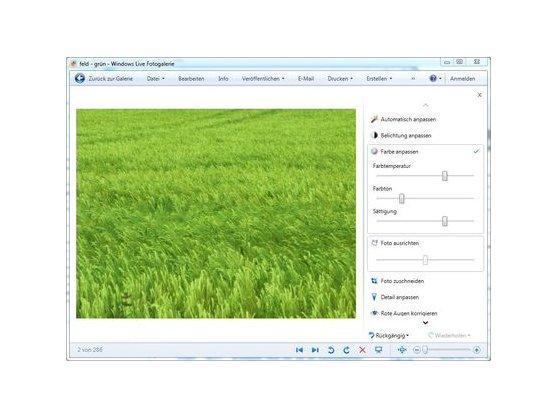 Regulators of individual tools allow quick editing.