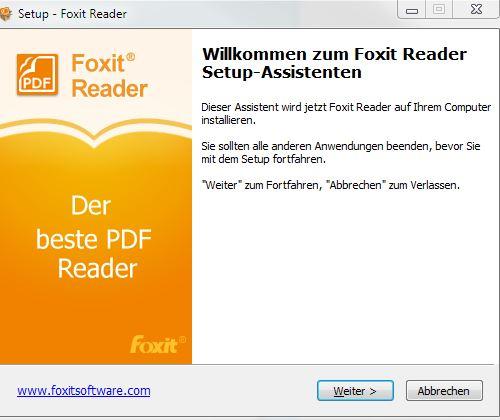 Foxit German