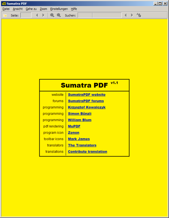 Sumatra PDF Viewer 3.1 Download
