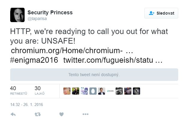 Hey - HTTP - we're almost ready to say about you, what you really are: NE-SAFE!