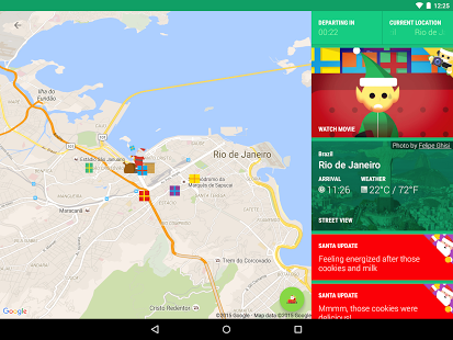 Radar Santa Claus Screenshot